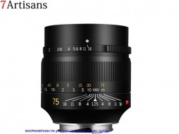 Lens 7ARTISANS 75mm F1.25 for M4/3