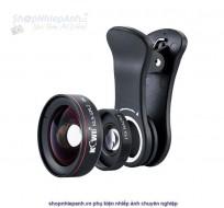Lens góc siêu rộng và siêu macro Kiwi KLS-SPL2 4K for smartphone