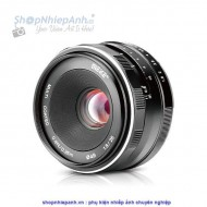 Lens Meike 25f1.8 manual focus for sony Emount (crop)