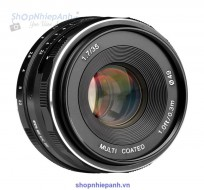 Lens Meike 35F1.7 manual focus for Sony Emount (CROP)