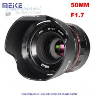 Lens Meike 50F1.7 FULL FRAME manual focus for sony E-mount