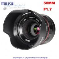 Lens Meike 50F1.7 FULL FRAME manual focus for sony E-mount
