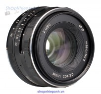 Lens Meike 50F2.0 manual focus for Olympus Panasonic M4/3