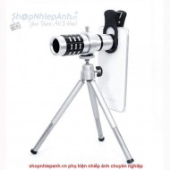 Lens telephoto 12X for all smartphone