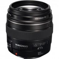 Lens Yongnuo 100f2 for canon eos