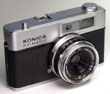 máy ảnh Konica delux 2 trưng bày