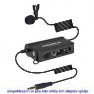 Microphone Comica lavalier CVM-SIG.LAV V05 multi function cài áo