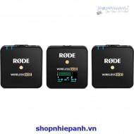 Micro không dây Rode wireless Go II (hàng chính hãng check code)