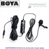 Microphone lavalier cài áo Boya BY-M1
