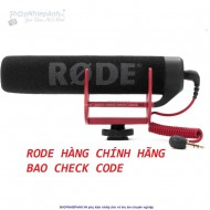 Microphone RODE VideoMic GO(hàng chính hãng check code)