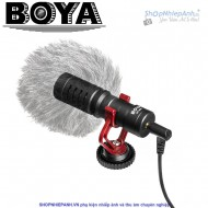 Micro thu âm Boya BY-MM1 cardioid