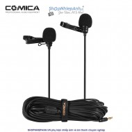 Micro thu âm Comica CVM-D02 dual head for camera/phone/gopro