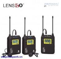 Micro thu âm không dây LensGo LWM-328C double ( 2 phát 1 thu )