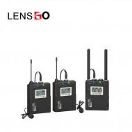 Micro thu âm không dây LensGo LWM-338C double ( 2 phát 1 thu )