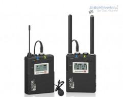 Micro thu âm không dây LensGo LWM-338C single ( 1 phát 1 thu )