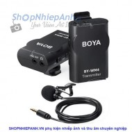 Micro thu âm wireless UHF Boya BY-WM4 for smartphone