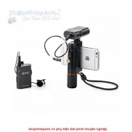 Micro thu âm wireless UHF Boya BY-WM4 mark II for smartphone