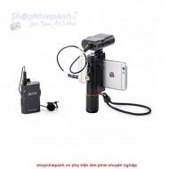 Micro thu âm wireless UHF Boya BY-WM4 mark II for smartphone
