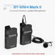 Microphone wireless UHF Boya BY-WM4 mark II