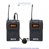 Micro thu âm wireless UHF Boya BY-WM6