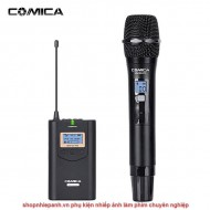 Micro thu âm wireless UHF Comica CVM-WM100H