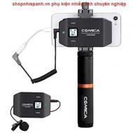 Micro thu âm wireless UHF Comica CVM-WS50B for smartphone