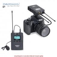 Micro thu âm wireless UHF Comica WM200C (1 phát 1 nhận)