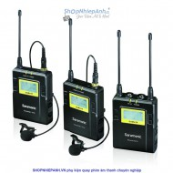 Micro thu âm wireless UHF Saramonic UWMIC10 (2tx+rx)