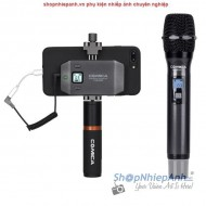 Micro wireless dành cho vlogger live stream Comica CVM-WS50H