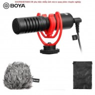 Microphone Boya BY-MM1+ super cardioid