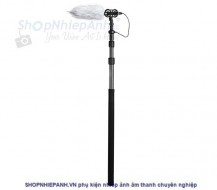 Microphone Carbon Fiber Boompole with XLR Cable Boya BY-PB25