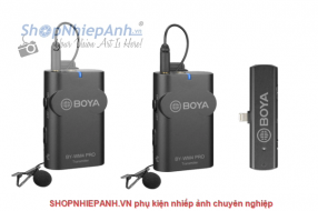 Microphone wireless Boya BY-WM4 PRO-K4 for iphone lightning
