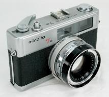 Minolta Hi-matic 7S (không đo sáng)