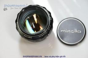 Minolta MC rokkor PG 50F1.2