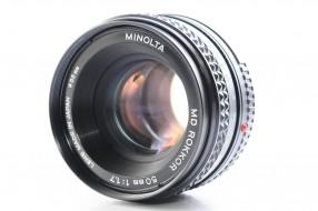 Minolta MD rokkor 50f1.7