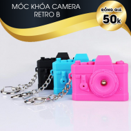 Móc khóa camera Retro rangefinder B with sound and light