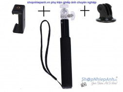 Monopod for gopro action cam smartphone