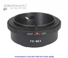 mount canon FD-Nex