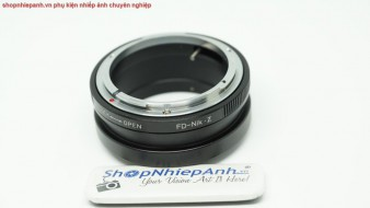 mount canon FD-Nikon Z