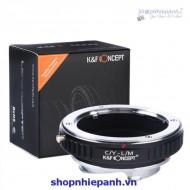 Mount K&F Concept C/Y-L/M (Contax Yashica-Leica M)