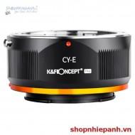 Mount K&F Concept CY-E PRO (contax yashica-nex)