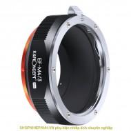 Mount K&F Concept EF-M4/3 PRO (Canon EF EFs EOS-M4/3)
