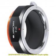 Mount K&F Concept EF-E PRO (Canon EF EFs EOS-Nex)