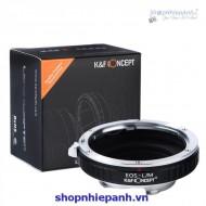Mount K&F Concept EOS-L/M (Canon EOS-Leica M)