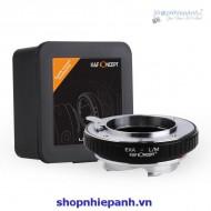 Mount K&F Concept EXA-L/M (exakta-Leica M)