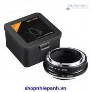 Mount K&F Concept FD-EOS R (Canon FD-Canon R)