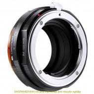 mount K&F Concept Nik(G)-FX PRO (Nikon G-FX)
