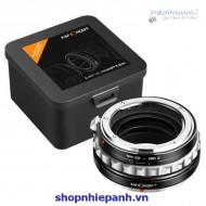 mount K&F Concept Nik(G)-NIK Z (nikon G-Nikon Z)