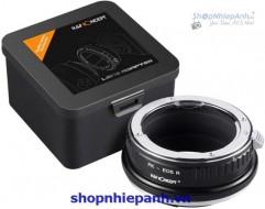 Mount K&F Concept PK-EOS R (Pentax K-Canon R)