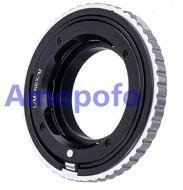 mount Leica M-Nex (có focus ring chụp Macro)